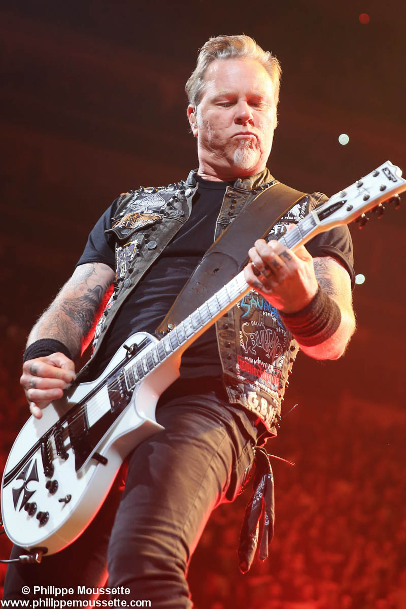Le chanteur de Metallica