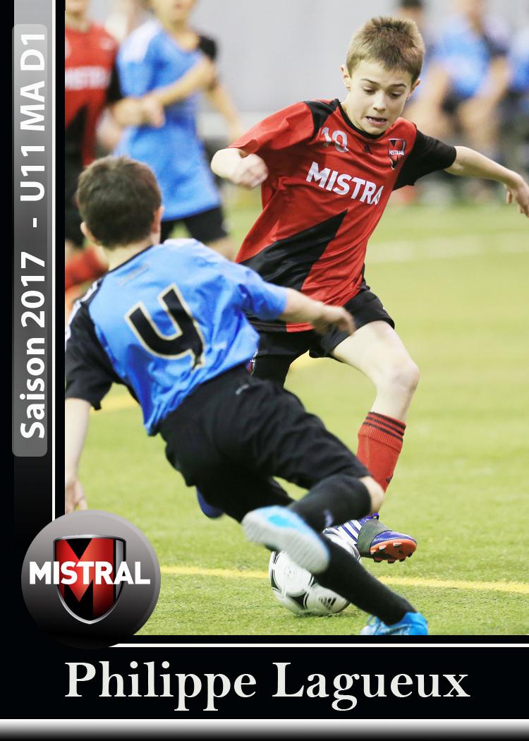 Carte de soccer Mistral