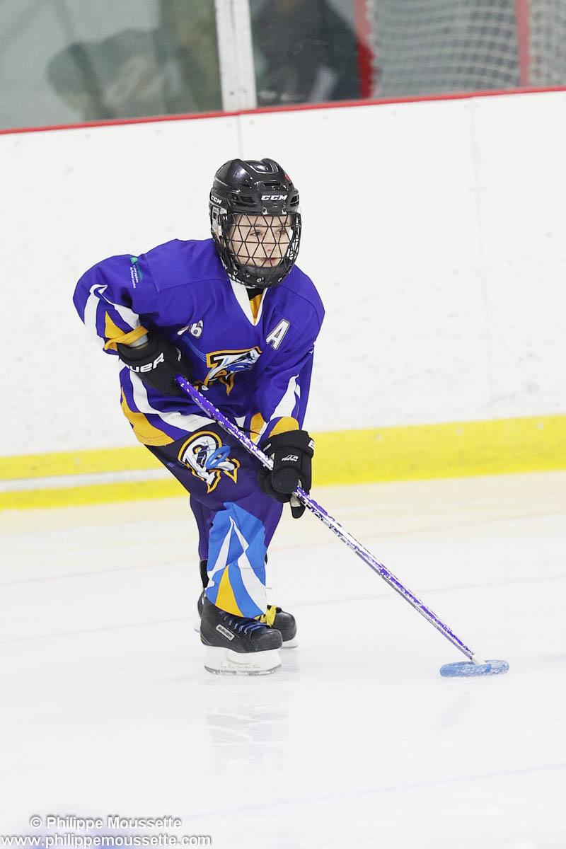 Jeune sportif en action