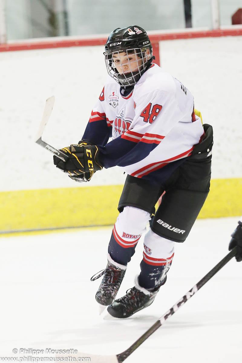 Joueur de hockey numéro 48