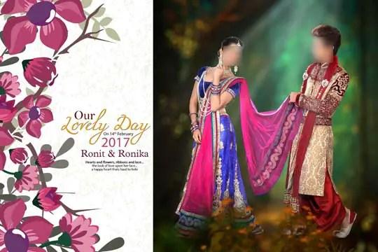Wedding Album Cover Design