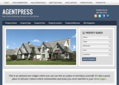 WordPress themes for real estate social media optimized website or blog - brokers and agents
