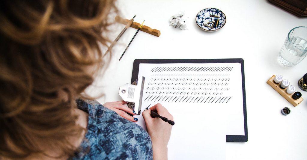 Studio Rosanne kalligrafie drills