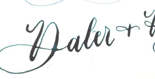 Q&A #3 - Enveloppen Acrylic inkt Daler & Rowney