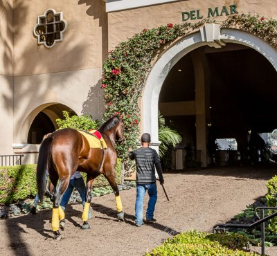 Horse Racing Excitement at 2015 Bing Crosby Opening Day at Del Mar.