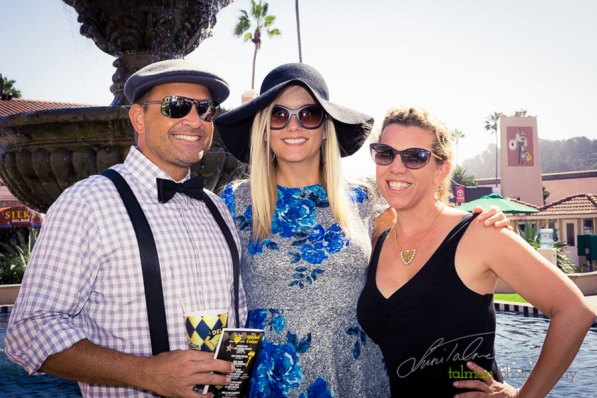 Jody Lynn Photo & Video poses with Fashion Contestants at the 2015 Bing Crosby Opening Day at Del Mar.