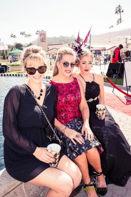 Kassidy, Deena and Brook. These are the hardest working ladies in Del Mar on Opening Day. Studio Savvy brings together a tremendous show for everyone to see at the 2015 Bing Crosby Opening Day at Del Mar.