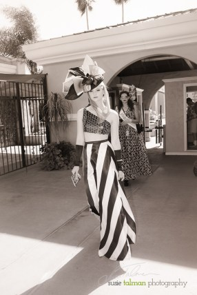 Nikki styled by Deena & Studio Savvy at 2015 Bing Crosby Opening Day at Del Mar