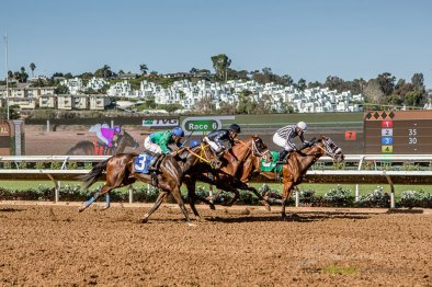 Horse Racing Excitement at 2015 Bing Crosby Opening Day at Del Mar