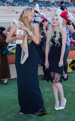 1st and 2nd Place Most Glamorous at 2015 Bing Crosby Opening Day at Del Mar