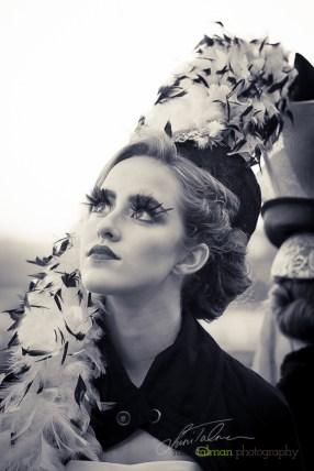 Hannah styled by Deena and Studio Savvy at 2015 Bing Crosby Opening Day at Del Mar