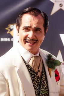 Clark was the ever stylish and dapper man of the day at 2015 Bing Crosby Opening Day at Del Mar