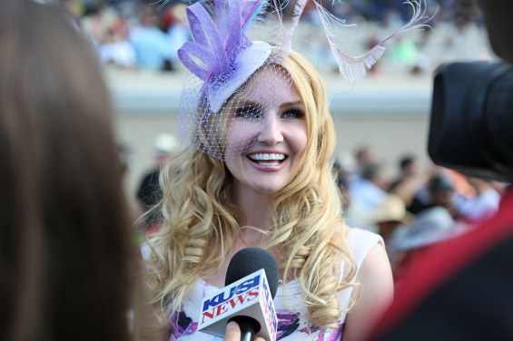 Del Mar Race Track, Opening Day Hat Contest 2016