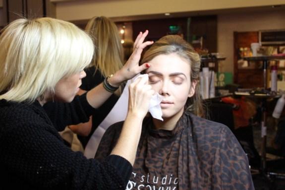 Studio Savvy Salon from Rancho Santa Fe model hair makeup wedding expo San Diego Kyla Rose Deena