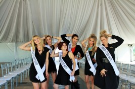 Studio Savvy Glamsquad at the San Diego Wedding Party Expo at the Marriott Marquis.