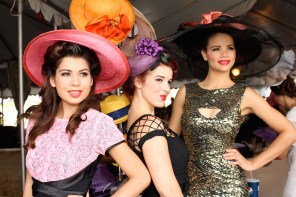 Show it all off as the Most Glamorous in the Opening Day Vintage Hollywood Fashion Contest.