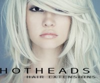 Studio Savvy promoting Hot Heads hair extensions