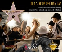 Be a Star on Opening Day at the Vintage Hollywood Fashion Contest