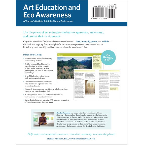 Art Education and Eco Awareness Sell Sheet