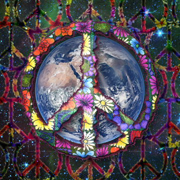 """free """"peace - pass it on"""" social media profile picture designer by shelli"""