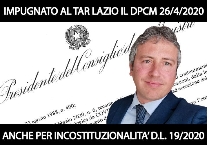 impugnato-al-tar-lazio-dpcm-26-4-2020