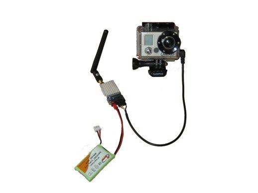 Kit de transmission sans fil 5,8GHz pour caméra GOPRO HD