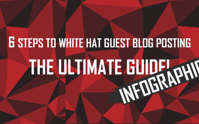 6 Steps to Guest Blog Posting INFOGRAPHIC