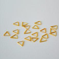 clip driehoek goud