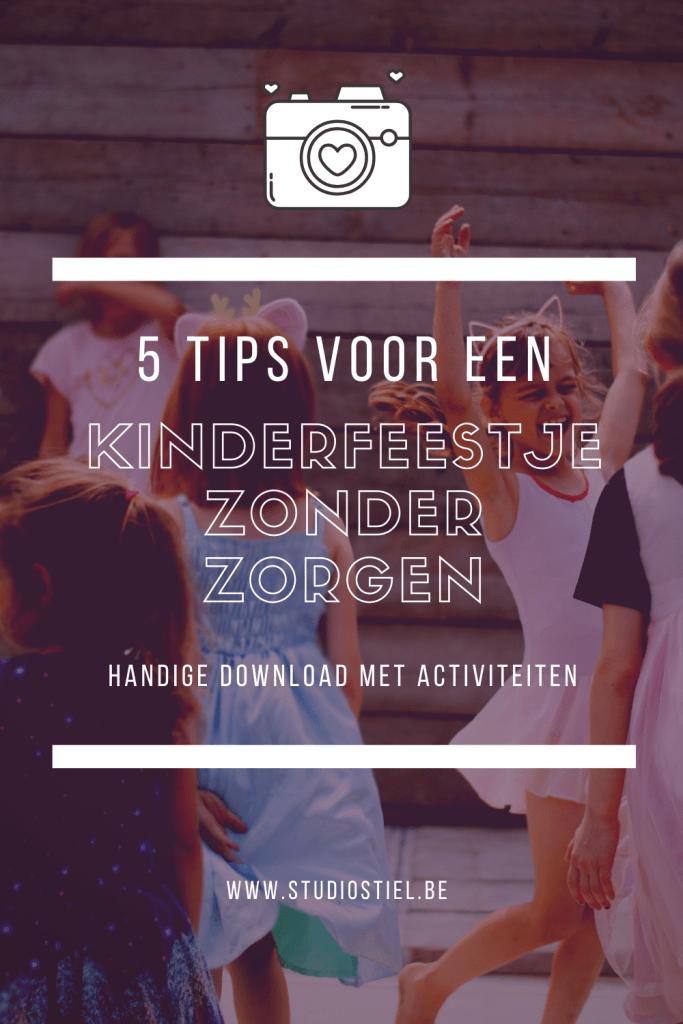 5 tips voor een zorgeloos kinderfeestje