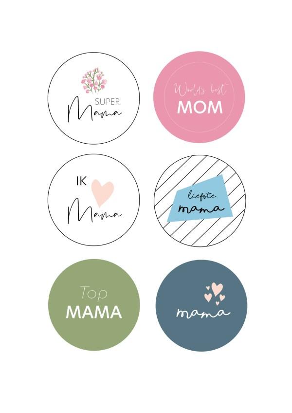 button moederdag