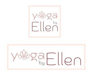 logo yoga by ellen ontwerp door studio stiel