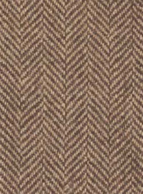 Vintage Herringbone Brown Tweed Suit Studiosuits Made