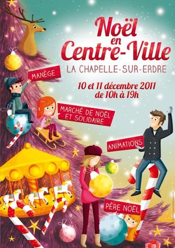 Illustration Marché de Noël 2011