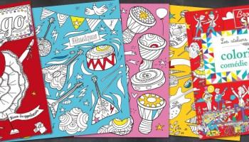 Coloriage Studio Danse.Album Coloriages Gautier Languereau Graphiste Vendee Les Sables
