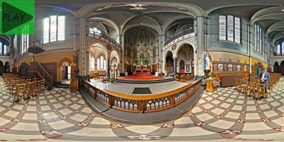 Kapel van het Allerheiligste Sacrament Hemelstraat Antwerpen