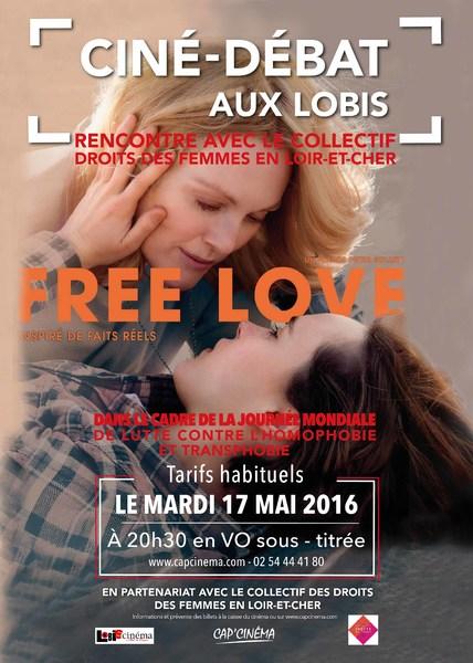Tous au Poste ! Ciné Débat Free Love lutte contre Homophobie et Transphobie.