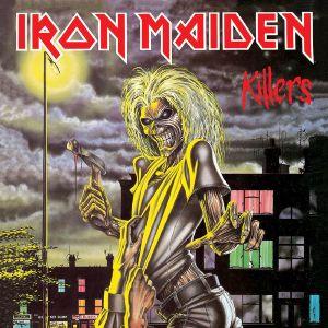 Pochette du deuxième album d'Iron Maiden : Killers (1981)