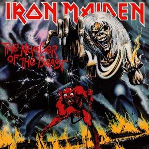 Pochette du troisième album d'Iron Maiden : The Number Of The Beast (1982)