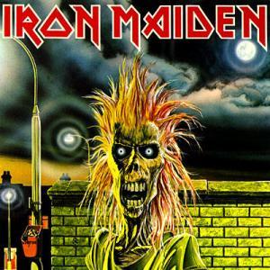 Pochette du premier album d'Iron Maiden : Iron Maiden (1980)