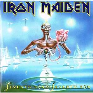 Pochette du septième album d'Iron Maiden : Seventh Son Of A Seventh Son (1988)