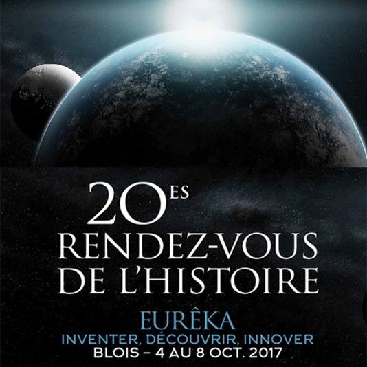 Studio Zef partenaire des Rendez-vous de l'Histoire 2017.