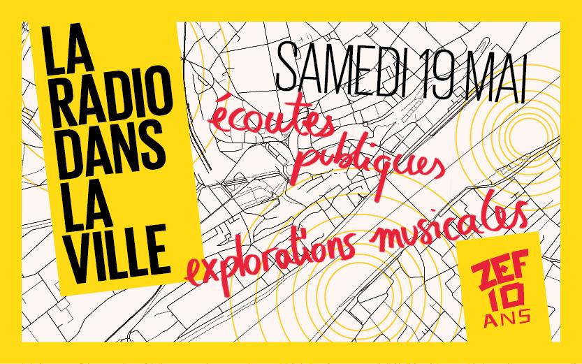 Samedi 19 mai : la radio dans la ville