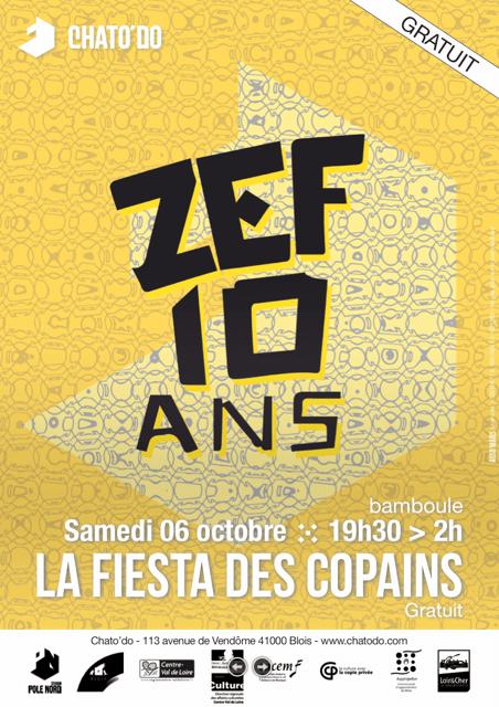 10 Ans de Zef- La Fiesta des copains