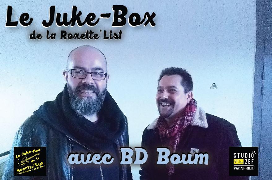 Le juke Box de la Roxette'List : BD Boum