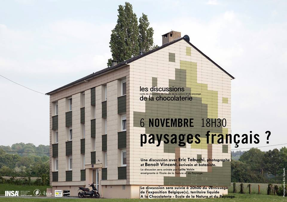 La discussion de novembre – paysages français ?