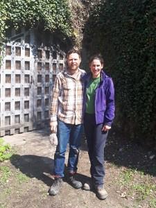 Paul-André Risse et Anouk Lavoie-Lamoureux, vignerons à Thésée.