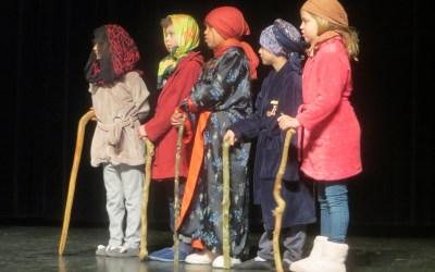 Les CE2 d'Auron Bourges ont fait du théâtre