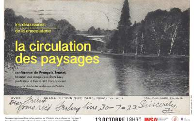 La discussion d'octobre – La circulation des paysages