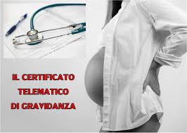 Certificato di gravidanza telematico