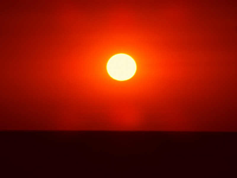 Broome Australien Cable Beach Sonnenuntergang 1158